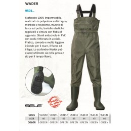 WADERS IN POLYESTERE